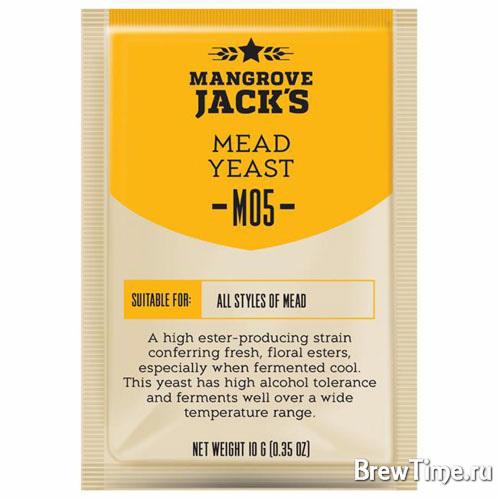 Дрожжи Mangrove Jack's M05 Mead