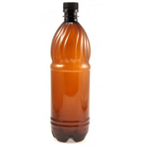 Бутылка ПЭТ коричневая 1 л
